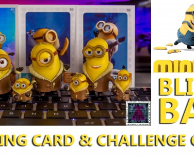 Minions Movies Blind Bags Trading Cards & Challenge Game