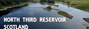 North Third Reservoir, Scotland – Aerial Drone Flight