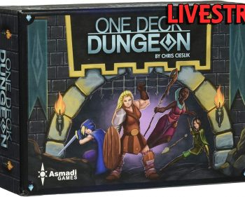 One Deck Dungeon – Tabletop Gameplay