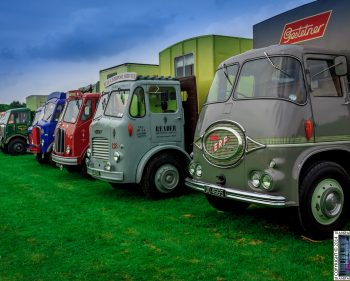 Pickering Traction Engine Rally 2014 – Vans and Trucks