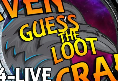 RavenCraft E004 – Guess the Loot, AFK Fishing – Live