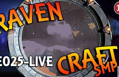 RavenCraft E025 – Exploring The Nether – 1.16.2