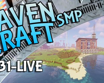 RavenCraft E031 – Working on the Kelp Farm  – 1.16.3