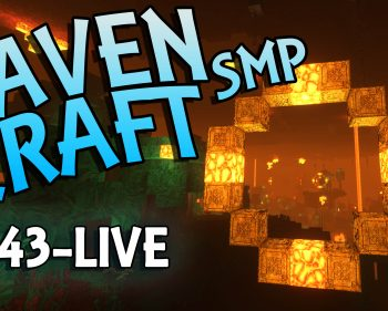 RavenCraft E043 – Nether Hoops – 1.16.4