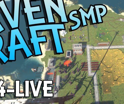 RavenCraft E044 – The Concrete Factory – 1.16.4