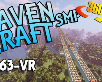 RavenCraft E063 – Auto Rail Network Ride 360 VR – 1.16.5