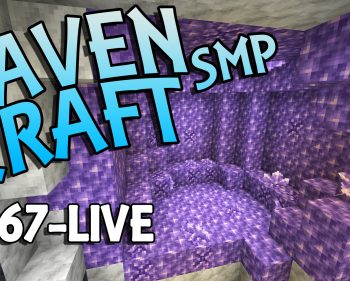 RavenCraft E067 – Searching for an Amethyst Geode – 1.17