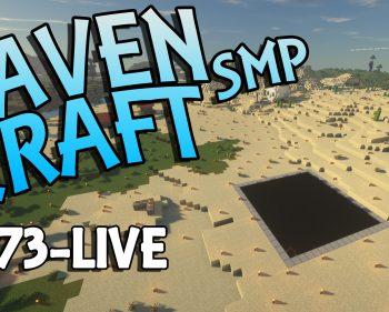 RavenCraft E073 – Excavating the Glow Squid and Axolotl Farm – 1.17.1