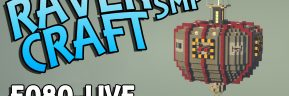 RavenCraft E080 – Gathering Resources For The Floating Rail Interchange – 1.17.1