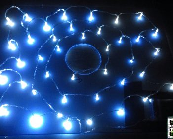 Building my Prototype Magic Twinkling Star field Eye Light Ring Light… Thing…