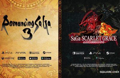 SaGa RPG – E3 2019