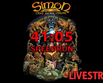 Simon The Sorcerer SpeedRun 41:05 minuets… Because That's What The Worlds Needs