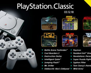 PlayStation Classic's Full Game Lineup Revealed
