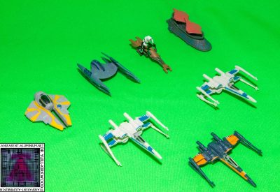 Star Wars Micro Machines Blind Bags Photos