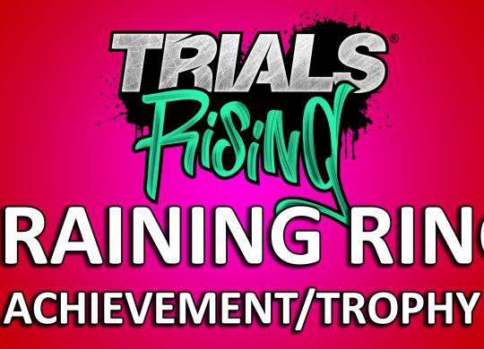 Trials Rising: Training Ring – Achievement/Trophy