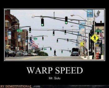 Picture Imp: Warp Speed Mr. Sulu