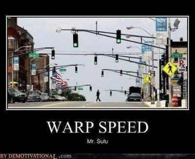 Picture Imp: Warp Speed Mr. Sulu