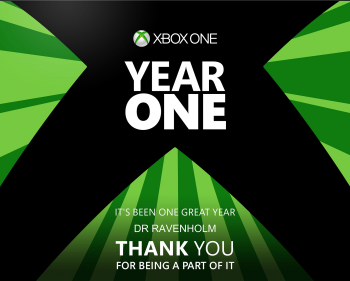 XBOX ONE First Birthday