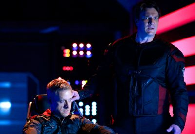 Firefly stars Nathan Fillion and Alan Tudyk spoof themselves in exclusive Con Man trailer