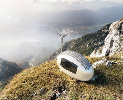 This Tiny Ecocapsule Home Will Allow You To Live Off-Grid Anywhere In The World