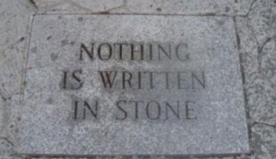 Picture Imp: Written in Stone