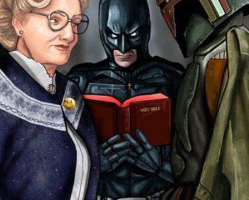 Picture Imp: Boba Fett Doubfire Batman