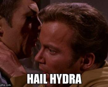 "These Are The Funniest Pictures From The ""Hail Hydra"" Meme"