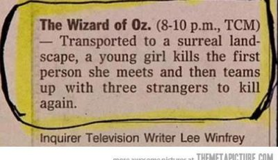 Picture Imp: The Wizard Of Oz