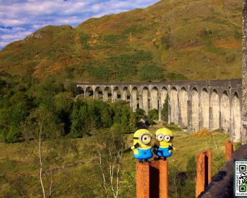 Glenfinnan Viaduct and Commando Memorial