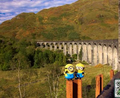 Glenfinnan Viaduct and Commando Memorial