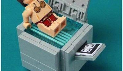 Picture Imp: Naughty Lego Princess Leia