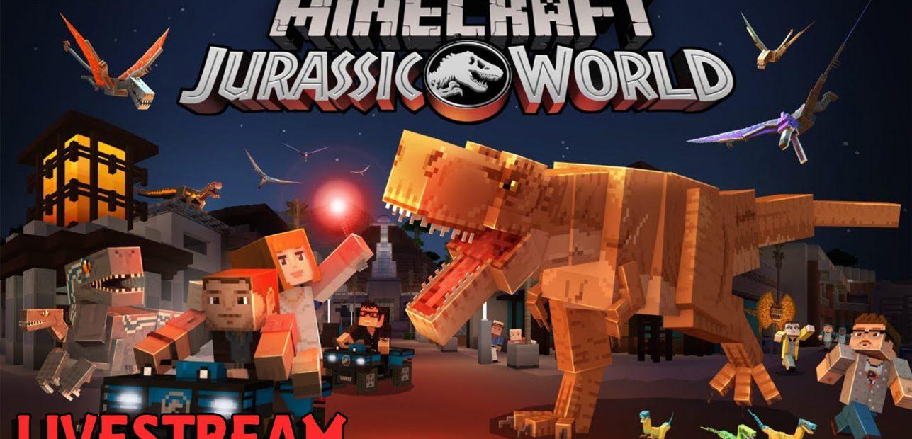 Welcome to Jurassic World – Minecraft Mash-Ups