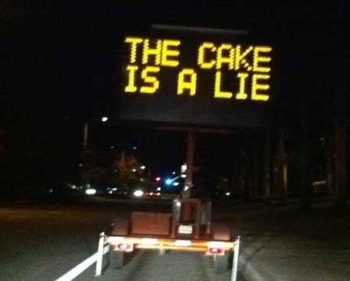 17 Hacked LED Road Signs