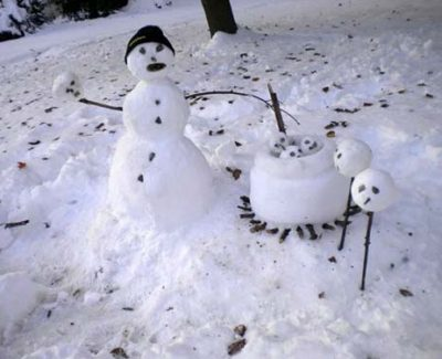 21 Creepy and Unsettling Snowmen