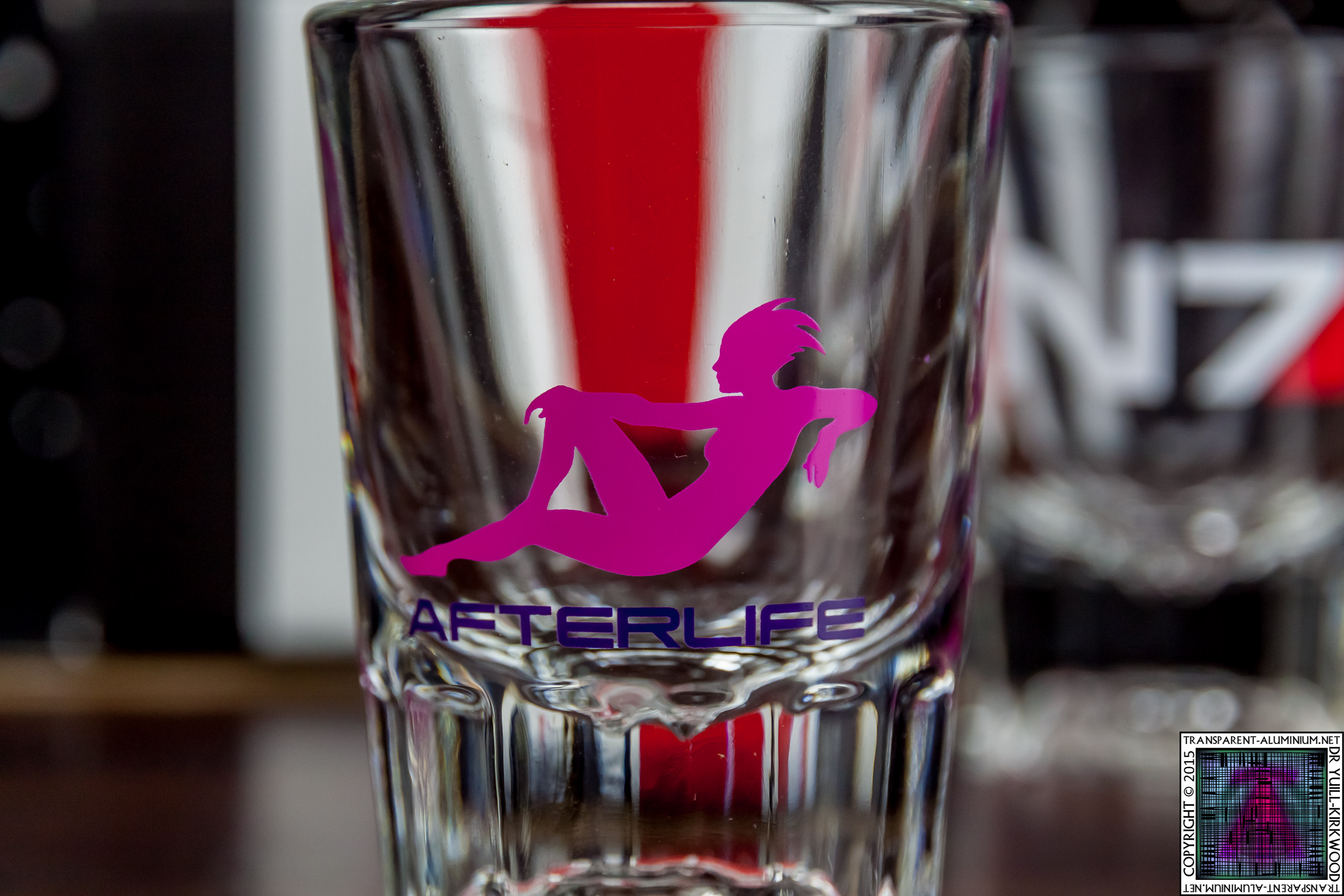 Afterlife Mass Effect Shot Glass