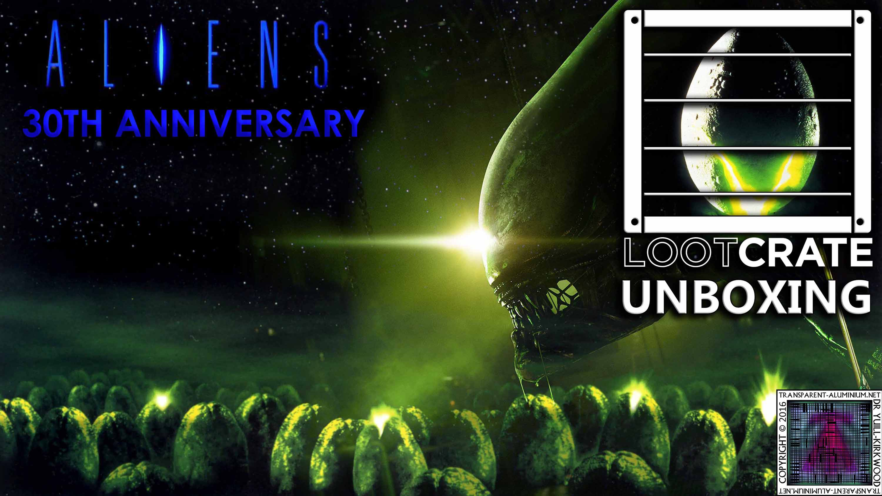 Loot Crate Special – Aliens 30th Anniversary