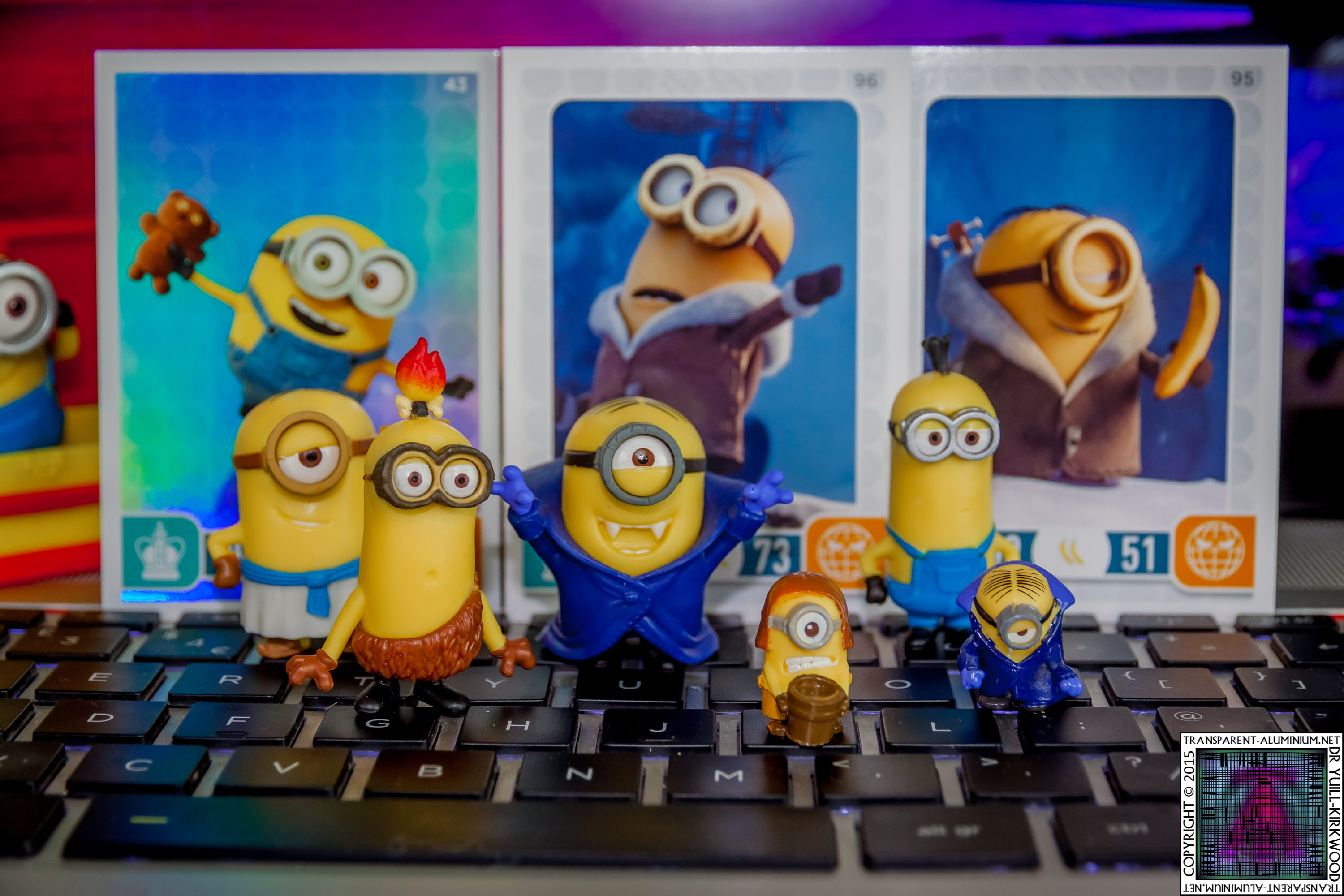 Minions Movies Blind Bags Trading Cards & Challenge Game Photos