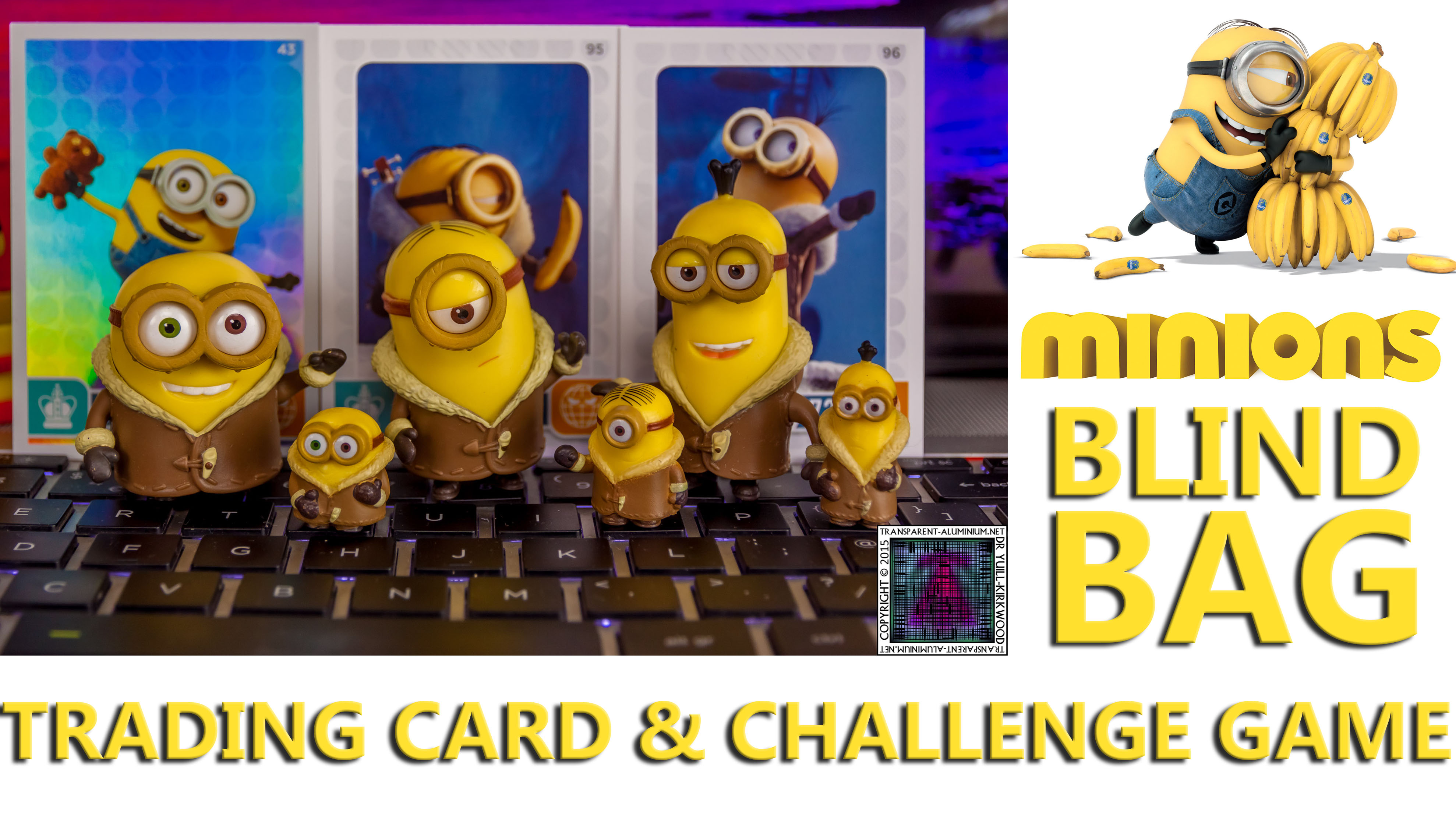 MINIONS CHALLENGE CARD GAME BLIND BAG *YOU PICK!* NEW